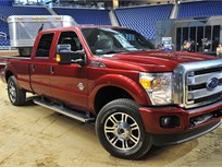 2013 Ford F-Series Boosts Towing and Payload Capacities
