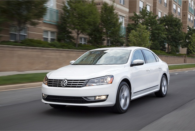 2013 Volkswagen Passat photo courtesy of Volkswagen.