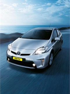 Hertz has added the Toyota Prius to its Australian fleet.