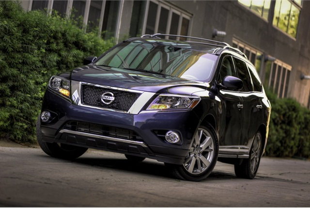 2013 Nissan Pathfinder photo courtesy of Nissan.