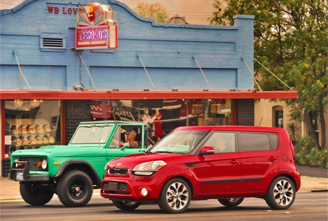 Photo of 2013 Kia Soul courtesy of Kia Motors America.