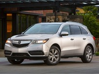 Honda Recalling 2014-MY Acura MDX AWD Vehicles