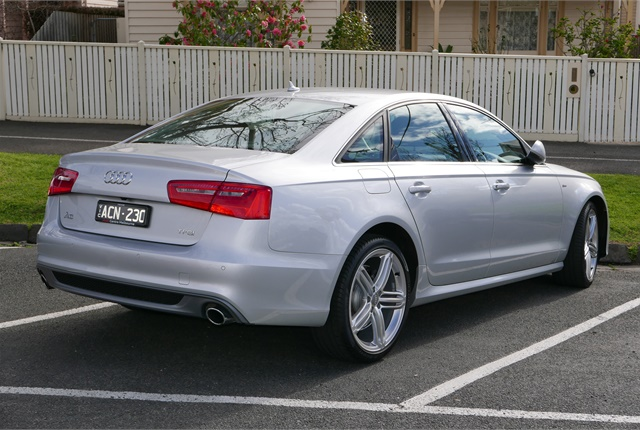 Photo of Audi A6 via Wikimedia Commons.