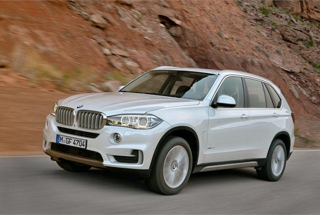 The all-new 2014 BMW X5. Photo courtesy BMW.