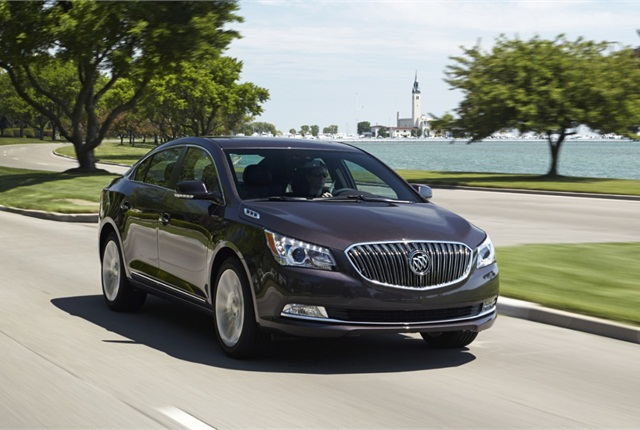 2014 Buick LaCrosse. Photo courtesy of Buick.