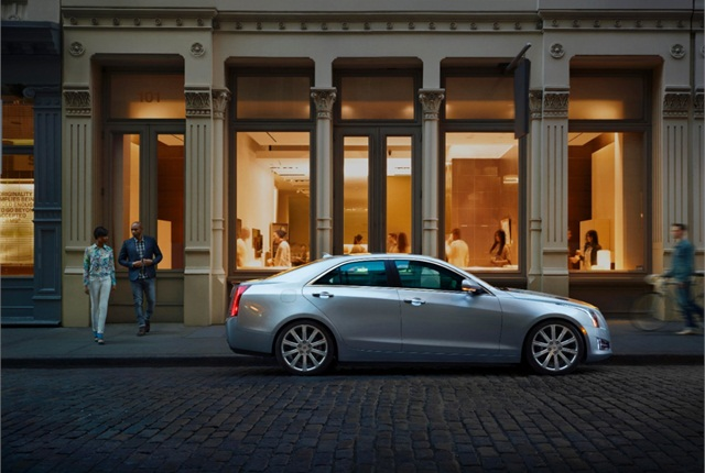 Photo of 2014 Cadillac ATS courtesy of GM.