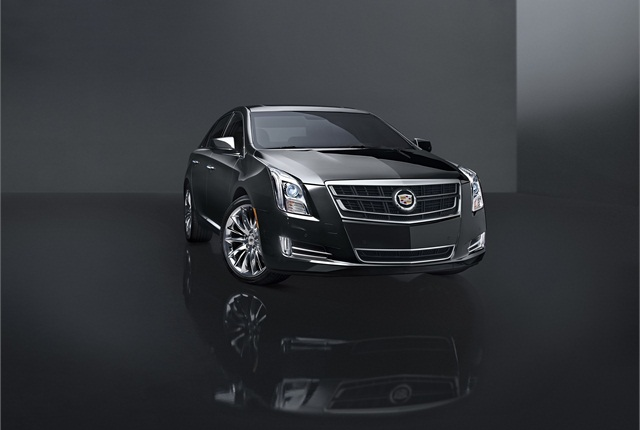 Cadillac plans to offer an all-new Twin Turbo V-6 for the 2014 XTS. Photo courtesy GM.