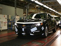 GM Begins Production of All-New 2014 Chevrolet Impala