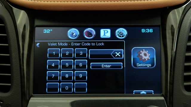 "GM offers a new ""valet mode"" on its all-new 2014-MY Chevrolet Impala. Photo courtesy GM."