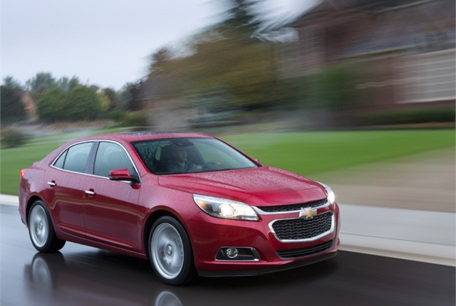 2014 Chevrolet Malibu. Photo copyright GM.