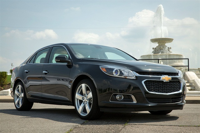 The 2014 Chevrolet Malibu. Photo courtesy GM.