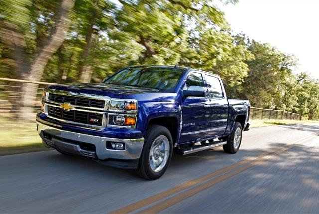 Photo of 2014 Chevrolet Silverado courtesy of General Motors.
