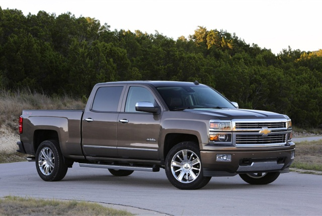 2014 Chevrolet Silverado. Photo copyright: General Motors.