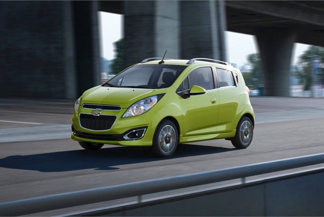 Photo of Chevrolet Spark courtesy of GM.