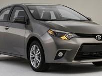 Toyota Unveils 2014 Corolla