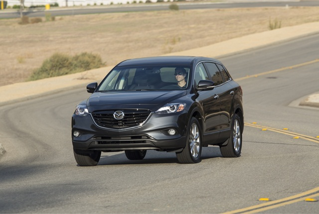Photo of 2014 Mazda CX-9 courtesy of Mazda.