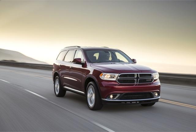 Photo of 2014 Dodge Durango courtesy of Chrysler Group.