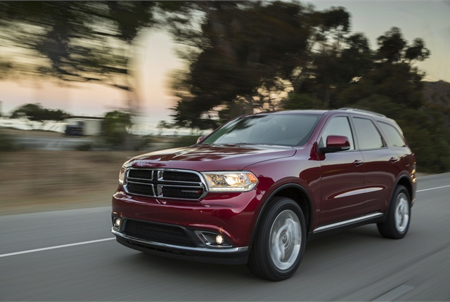 Photo of 2014 Dodge Durango courtesy of Chrysler Group.