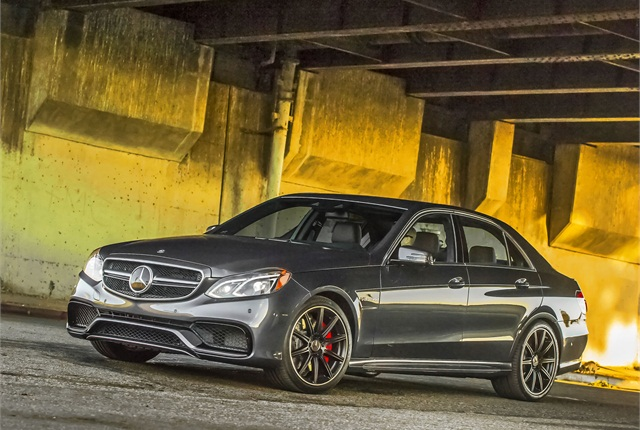 Photo of 2014 Mercedes-Benz E-Class sedan courtesy of MBUSA.