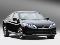 Honda Expects 2014 Accord Hybrid to Get 47 MPG Combined