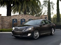 Hyundai Updates Equus' Exterior and Interior, and Adds Safety and Technology Features, for 2014
