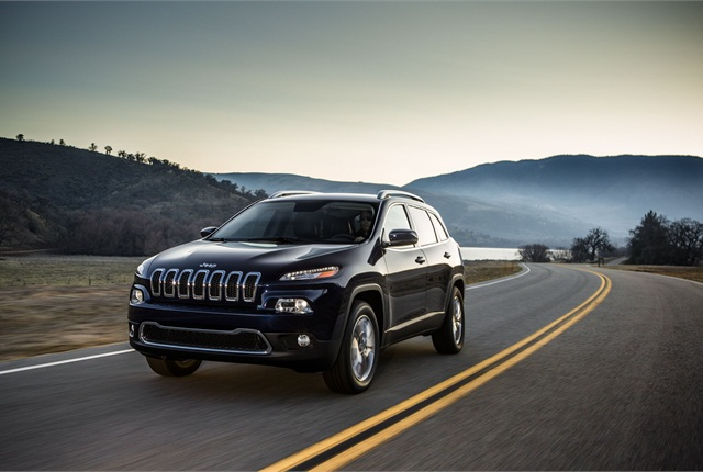 The all-new 2014 Jeep Cherokee replaces the Jeep Liberty. Photo courtesy Chrysler.