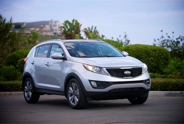 2014 Kia Sportage. Photo courtesy of Kia Motors.