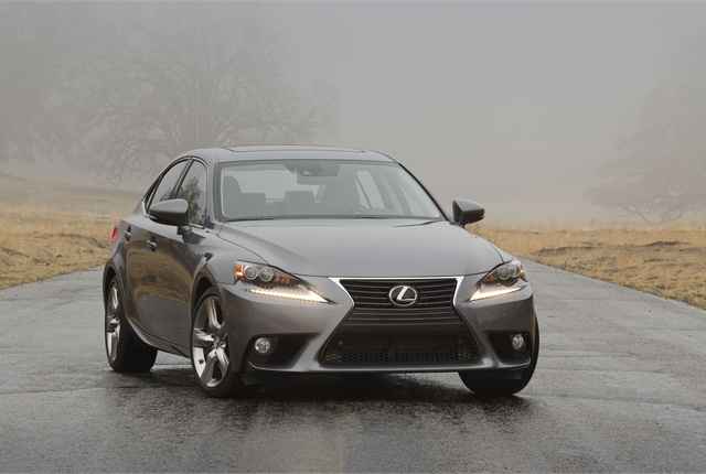 The 2014 Lexus IS 350. Photo courtesy Toyota.