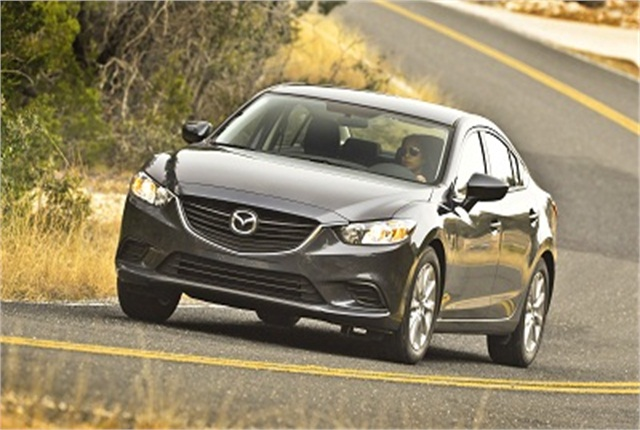 Photo of 2014 Mazda6 courtesy of Mazda.
