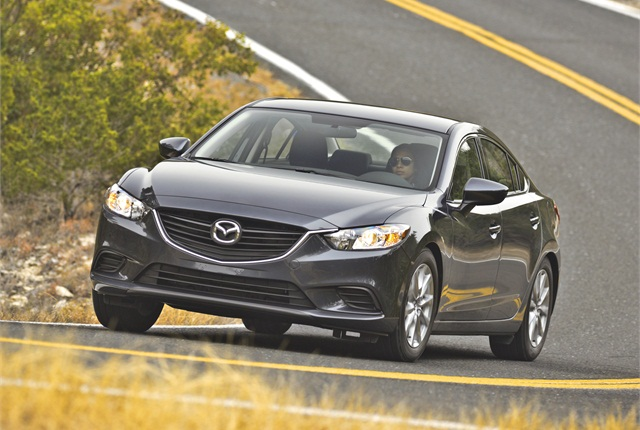 Mazda6 photo courtesy of Mazda.