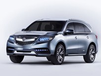 2014 Acura MDX to Include Multiple Advanced Safety Technologies