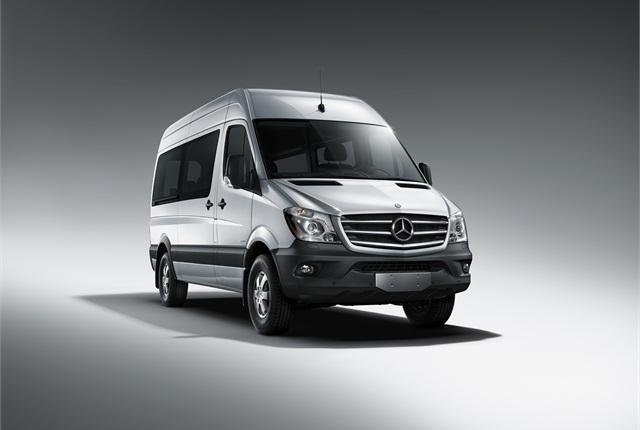 Photo of 2014 Mercedes-Benz Sprinter courtesy of Daimler.