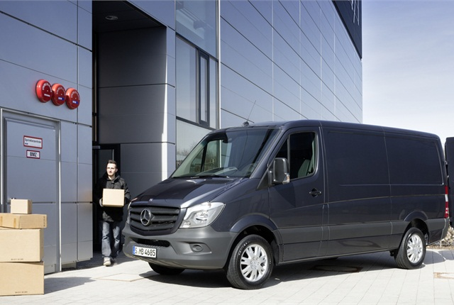Photo courtesy of Mercedes-Benz Sprinter.