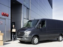 Mercedes Says 2014 Sprinter Van to Come Standard With Four-Cylinder Diesel Engine