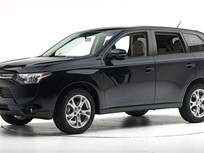 Mitsubishi Outlander SUV Earns Highest Safety Rating