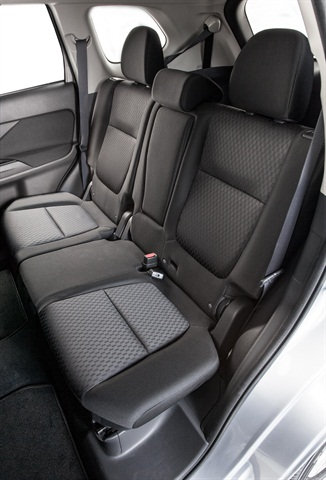 Mitsubishi said it made the seats more comfortable and ergonomically friendly. Photo courtesy Mitsubishi.