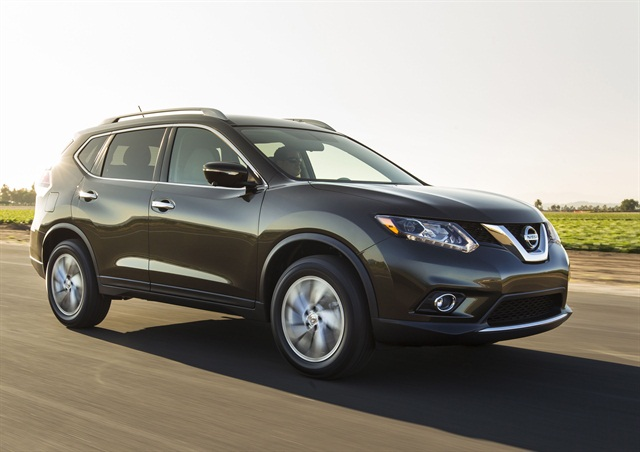 The 2014 Nissan Rogue. Photo courtesy Nissan.