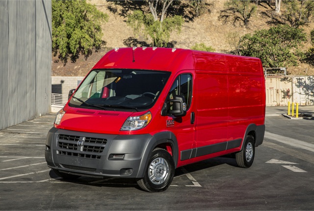Photo of Ram ProMaster courtesy of Chrysler Group.