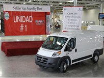 Chrysler Begins Ram ProMaster Van Production