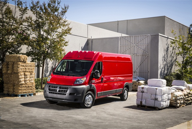 Photo of 2014 Ram ProMaster courtesy of Chrysler Group.