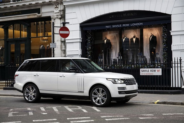 2014 Land Rover Range Rover photo courtesy of Jaguar Land Rover.