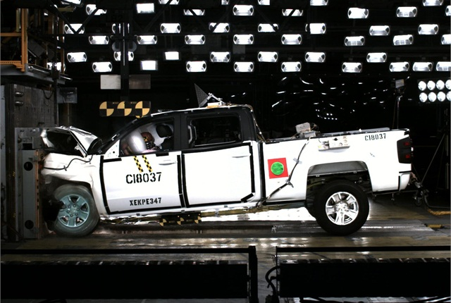 The 2014 Chevrolet Silverado 1500 and High Country and GMC Sierra and Sierra Denali 1500 are the first pickup trucks to receive the highest possible five-star Overall Vehicle Score for safety since the National Highway Traffic Safety Administration changed its New Car Assessment Program for the 2011 model year.