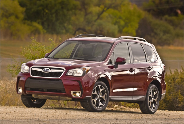 The all-new 2014 Subaru Forester. Photo courtesy Subaru of America.