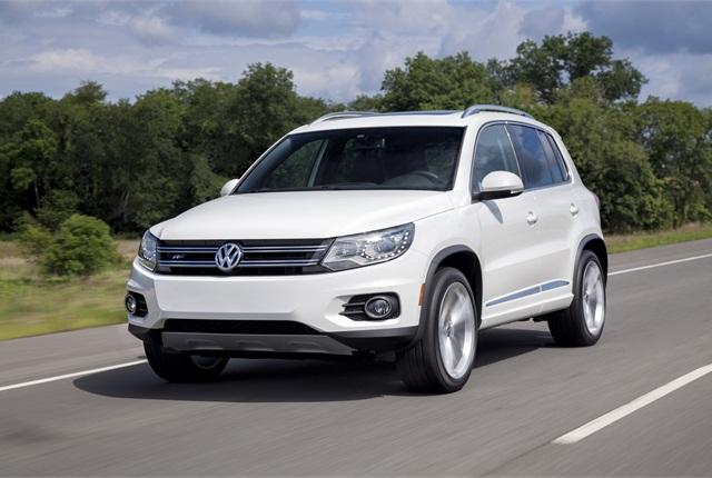 Photo of 2014 Volkswagen Tiguan courtesy of Volkswagen.