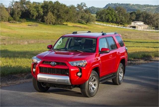 Photo of Toyota 4Runner courtesy of Toyota.