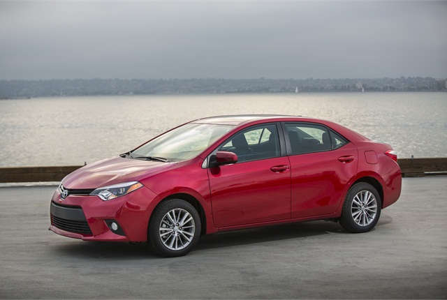 The 2014 Toyota Corolla LE. Photo courtesy Toyota.