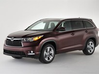 Toyota Unveils 2014 Toyota Highlander