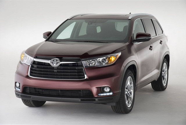 The 2014 Toyota Highlander. Photo courtesy Toyota.