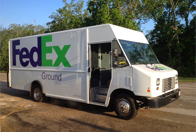 Harry Carver, a Fedex contractor based in Tyler Texas now has one Ford F-59 CNG truck in his fleet and is looking to purchase several more. (PHOTO: WESTPORT)
