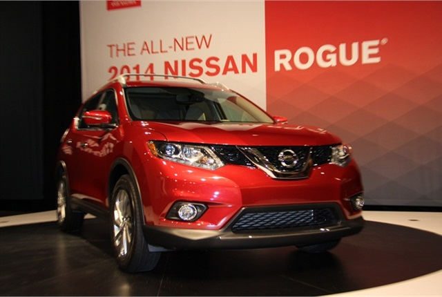 Photo of Nissan Rogue by Lauren Fletcher.